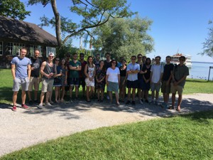 Exkursion der 11B-STW zum Herrenchiemsee